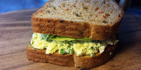 Dilled egg salad with green onion and butter lettuce sandwich dilled egg salad with green onion and butter lettuce sandwich recipe pinterest lettuce sandwich egg salad and lettuce forumfinder