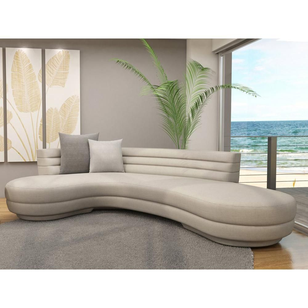Curved Sectional Sofa In Color Curved Sofa Contemporary Sofa