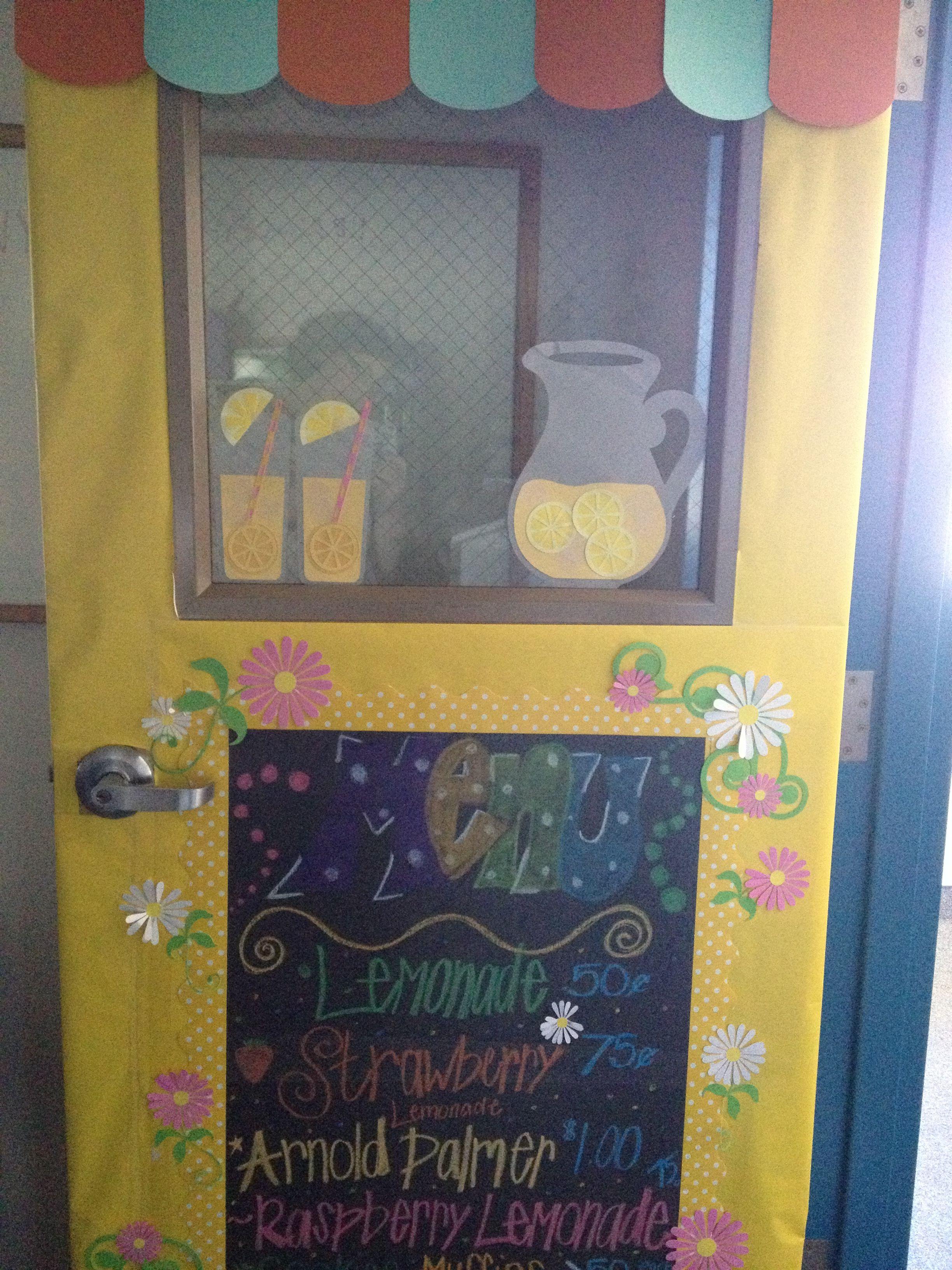 Lemonade Stand Bulletin Boards Pinterest Bulletin
