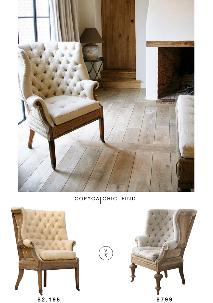 restoration hardware 19th century english wing chair vs soft fontaine wingback chair 799