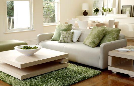 vert et beige - Salon Vert Et Beige
