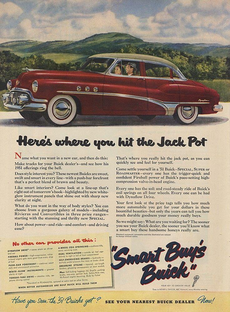 ADSAUSAGE Vintage Advertising Library Buick Pinterest Ads - Nearest buick dealer