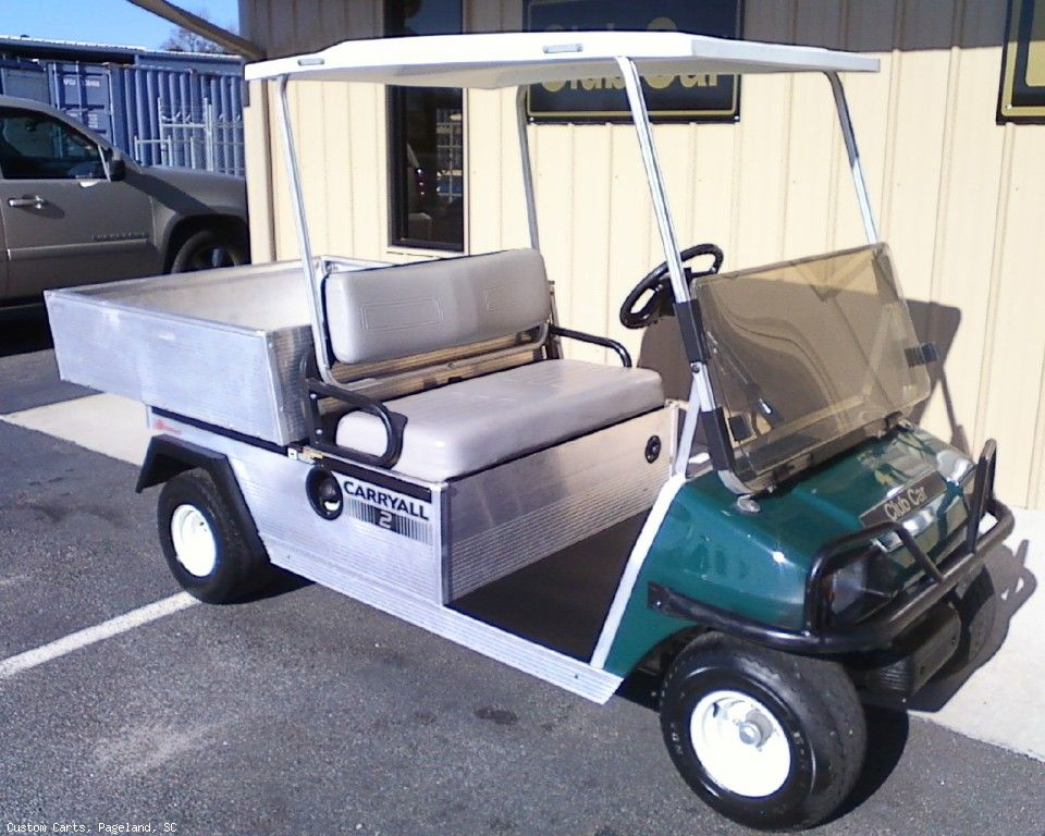 ClubCar Carryall 2, gas powered, lights, dump bed