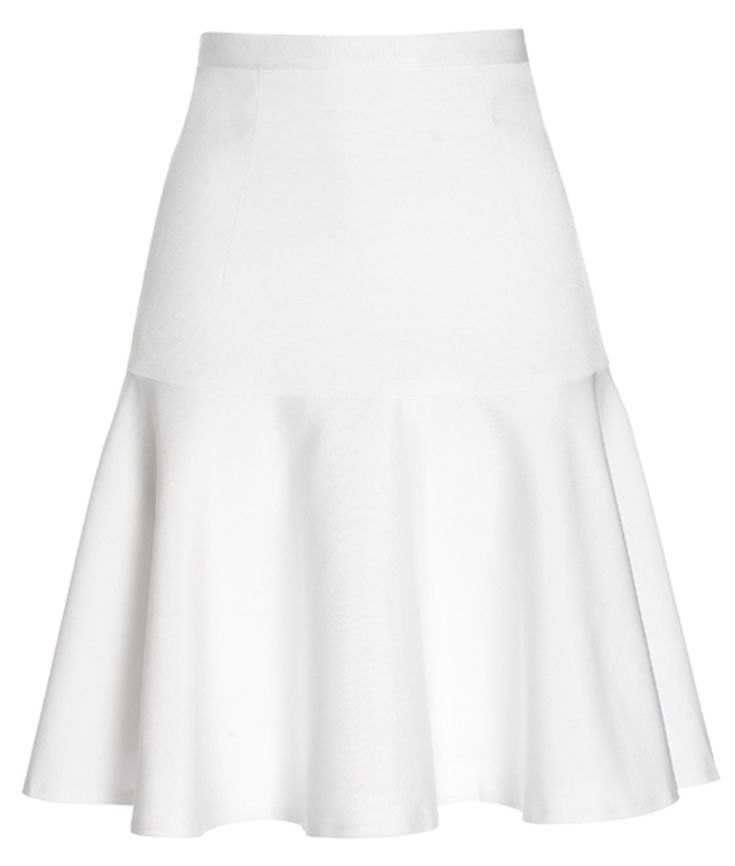 c2ef3e068c Reiss white flippy skirt - the skirt a key element of this autumn. Flippy  and flirty this skirt can be dressed up or down. Combined with black for a  ...