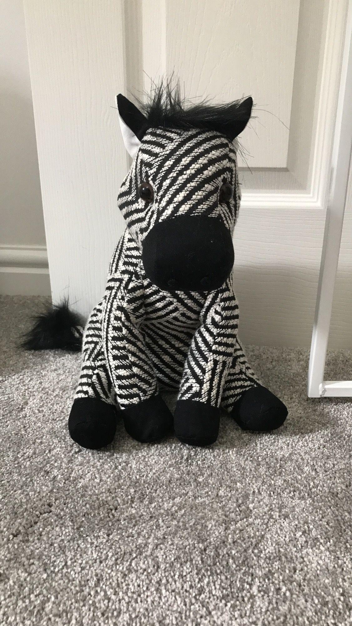 Next Zebra Door Stop For Ralphiu0027s Nursery