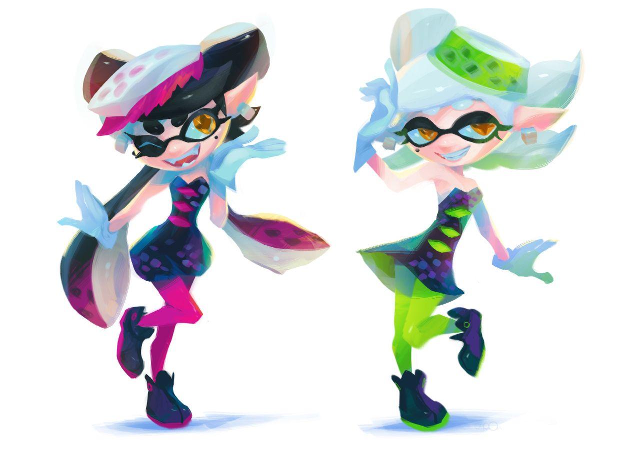 Oseoro Photo Splatoon Squid Sisters Splatoon Squid Splatoon Comics