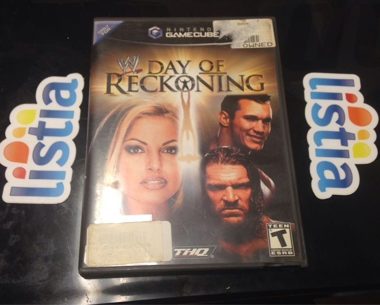 Wwe Day Of Reckoning GameCube | WWE video games | WWE