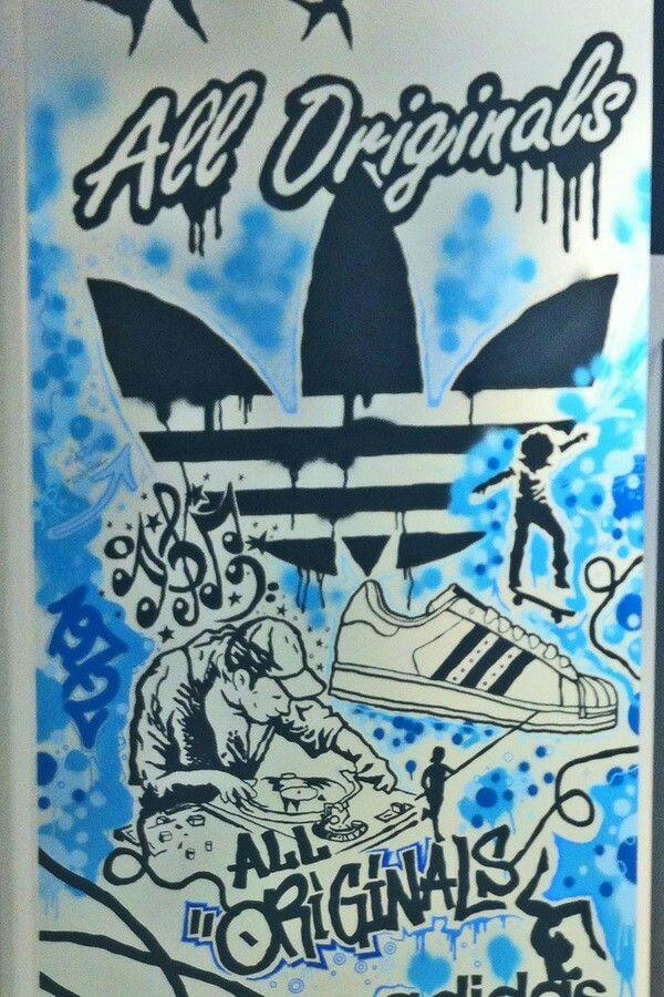 Adidas Original Graffiti