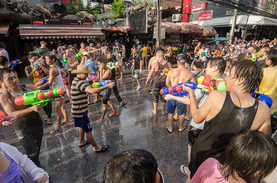 Songkran Water Festival — Chiang Mai, Thailand Festivals