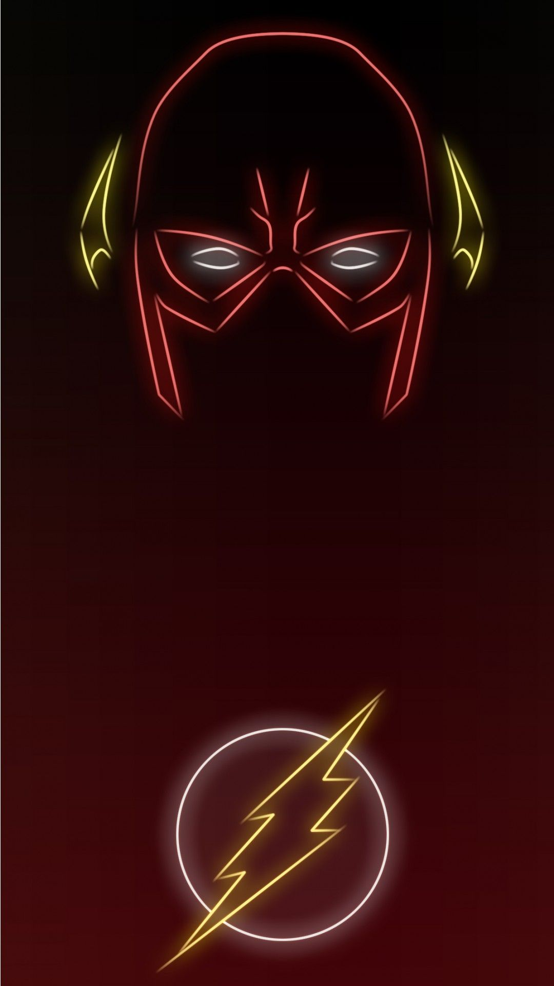 Neon Light The Flash Wallpapers 1080 X 1920 Available For Free Download