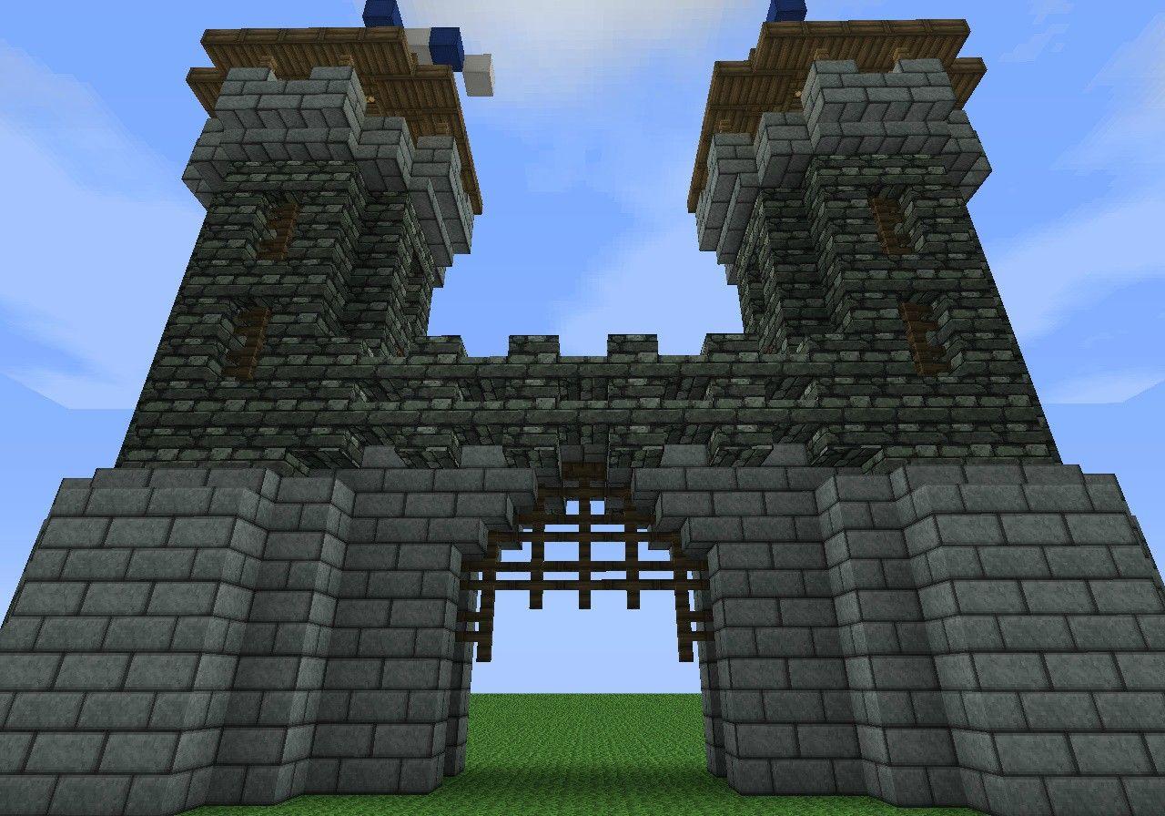 Medieval Gatehouse - Screenshots - Show Your Creation - Minecraft Forum