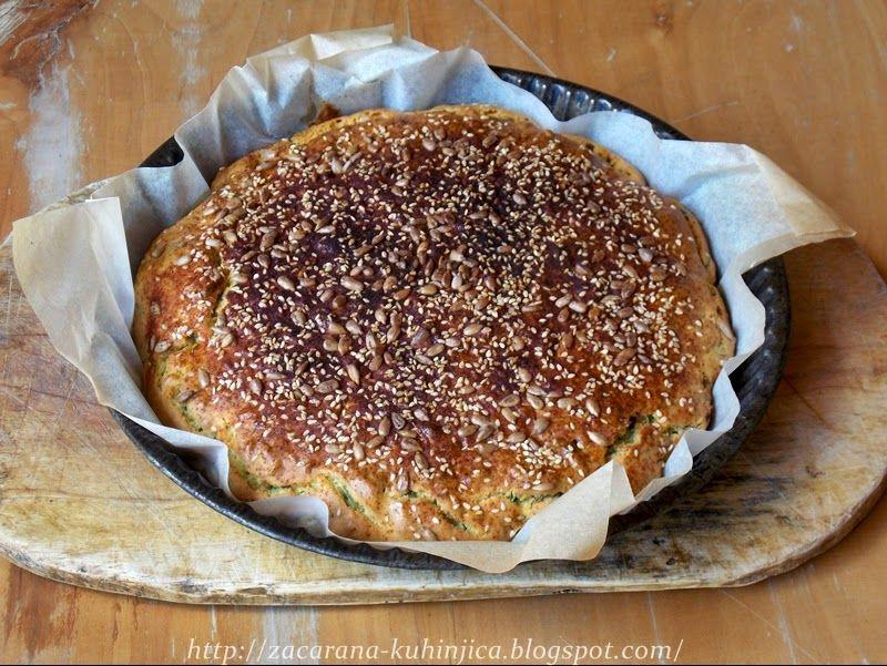 Začarana kuhinjica: Brza pogača sa sremušem i suncokretom
