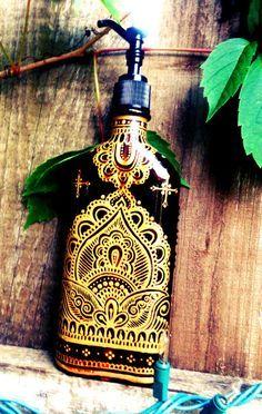 35+ Creative Ideas Using Henna Patterns in Crafts