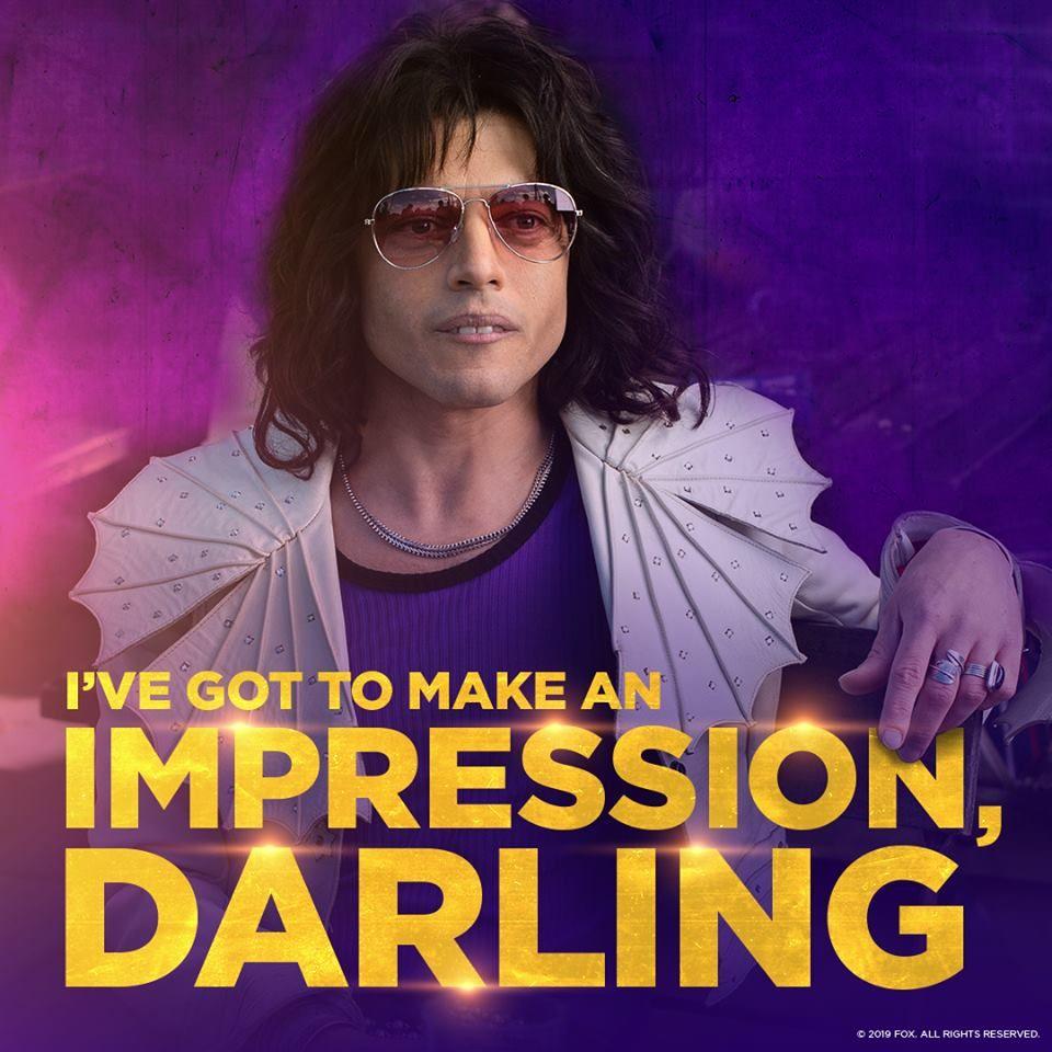 I Ve Got To Make An Impression Darling Bohemian Rhapsody Freddie Mercury Freddie Mercury Quotes Bohemian Rhapsody Freddie Mercury
