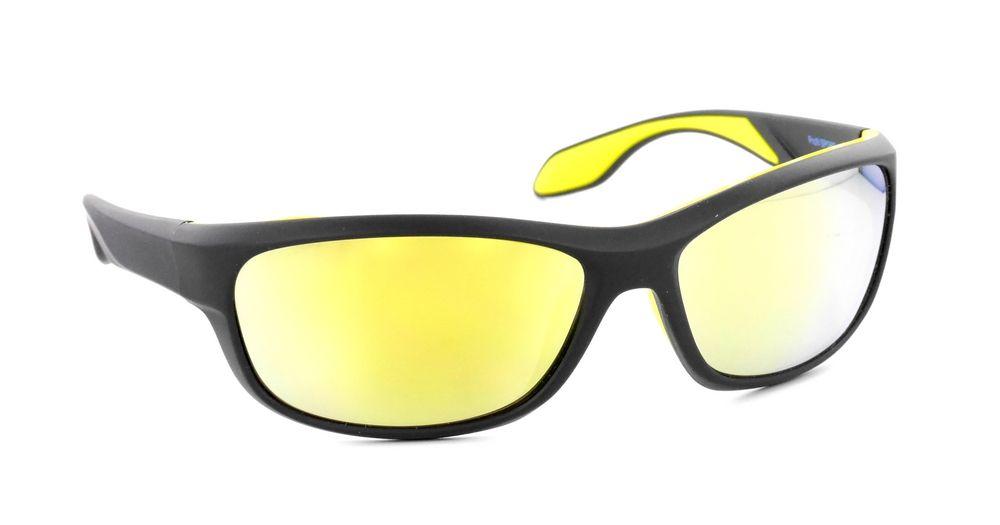 Lunettes solaires Profil Sport PS06 Noir-Jaune   Lunettes de sport ... 34d5be132973
