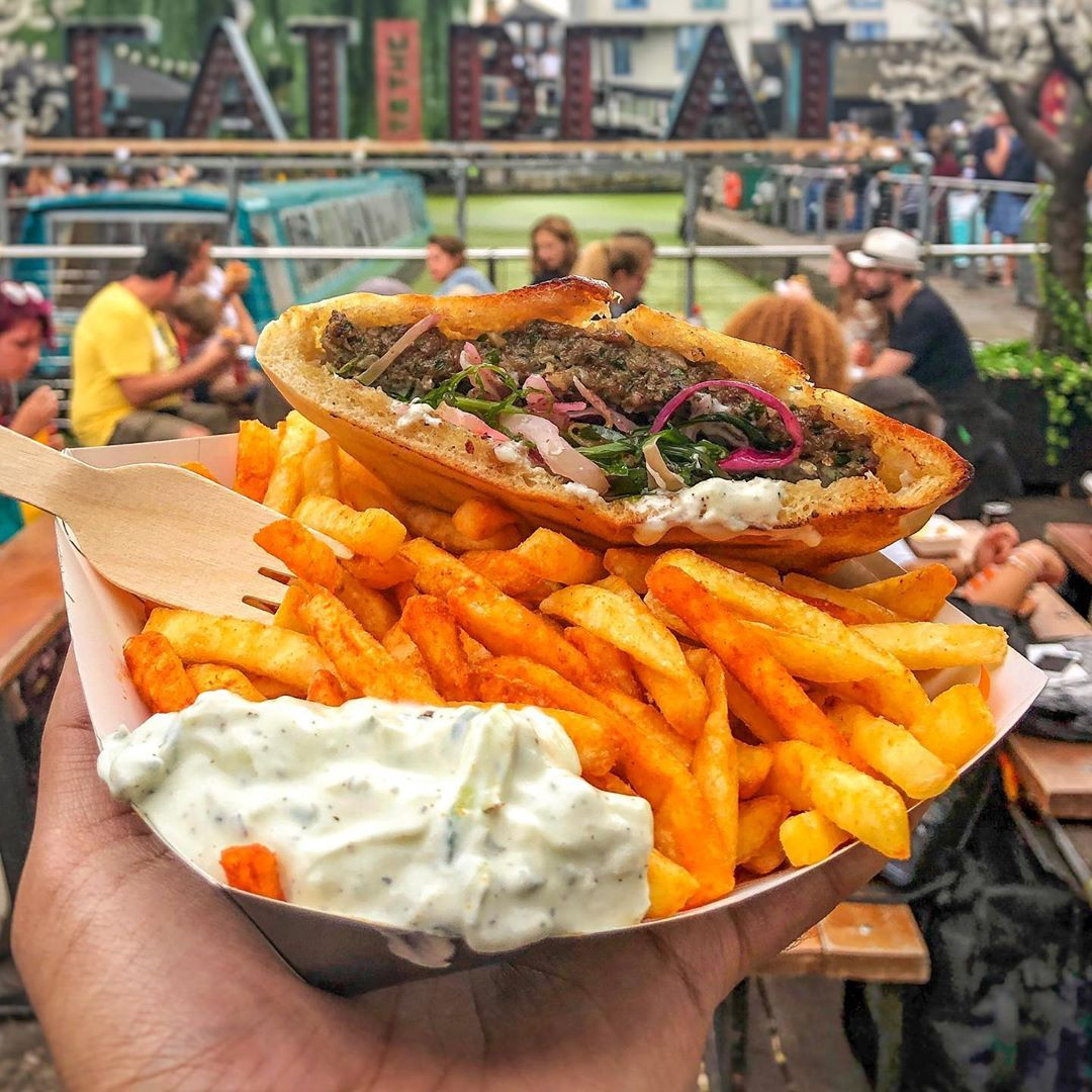 Halal Food Diary On Instagram Delicious Pockets Of Kebab From Bapitta In Camden Market Great Lunch Option If You Work In The In 2020 Halal Recipes Food Diary Food