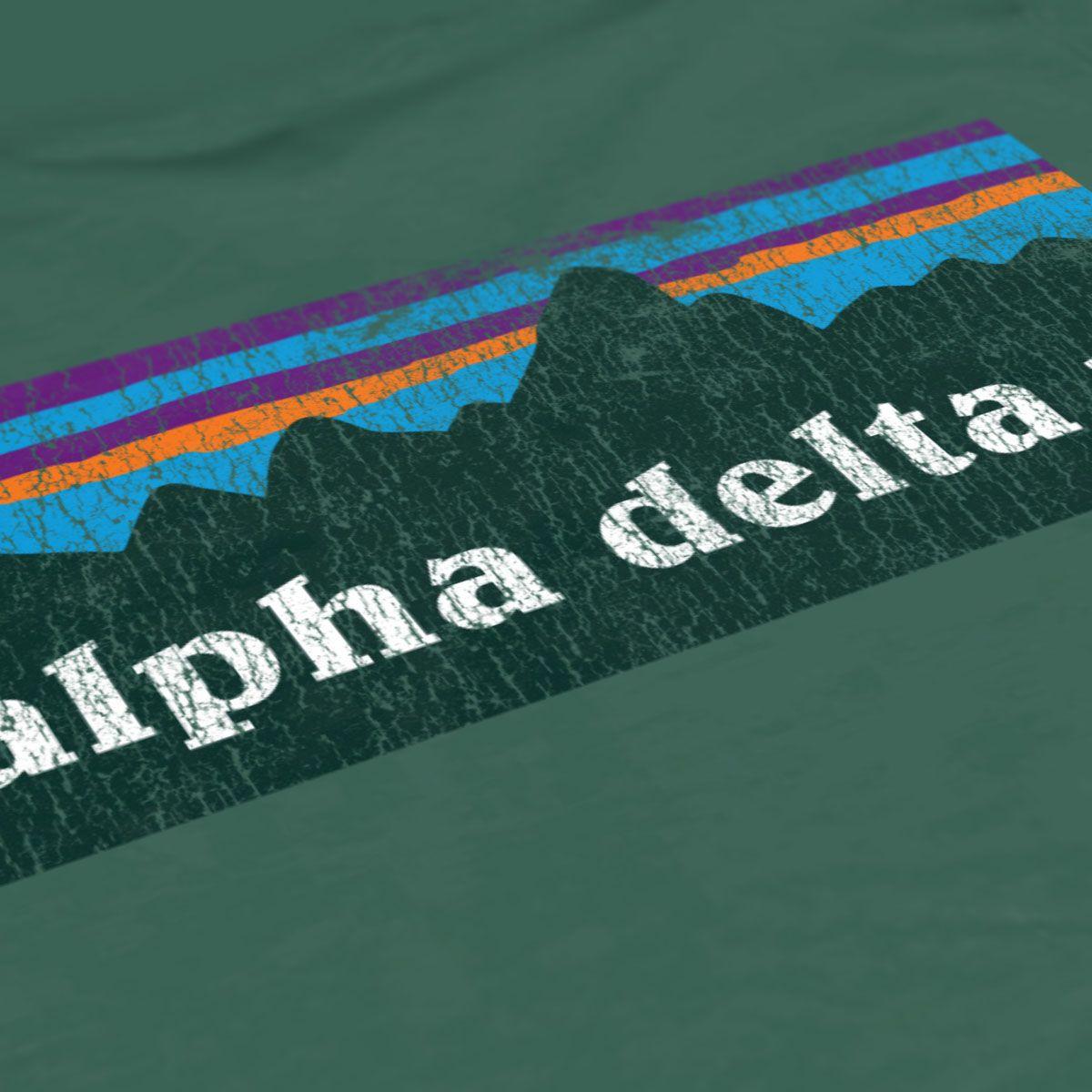 T shirt design jonesboro ar - Alpha Delta Pi Adpi Patagonia Design Arkansas Adpi Sorority T Shirts