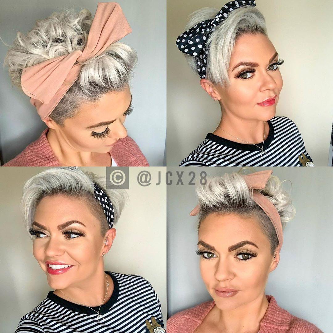 Fraulich - Frisuren für die Frau  Kurze haare haarband, Haarband