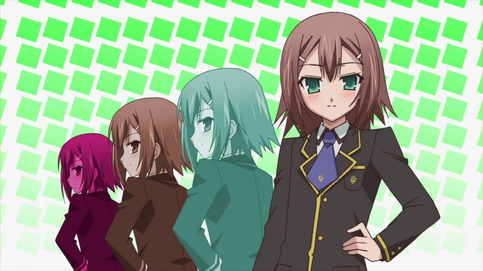 Baka No Test pin on fun/funny anime