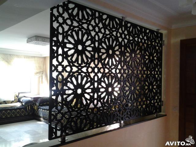 Menuiserie de bois professionnel | Moroccan Decor | Pinterest ...