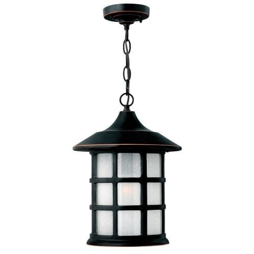 Hinkley lighting 1802 1 light outdoor single pendant from the freeport collection black aluminum hinkley lighting pendants and lights
