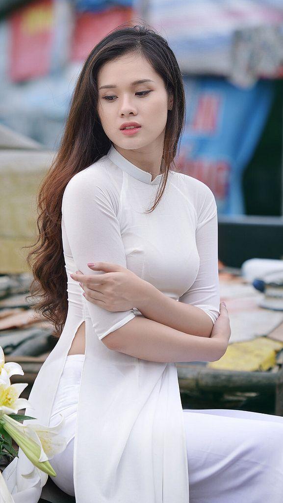 Áo dài ~ Việt Nam | Beautiful Girls | Pinterest | Ao dai ...