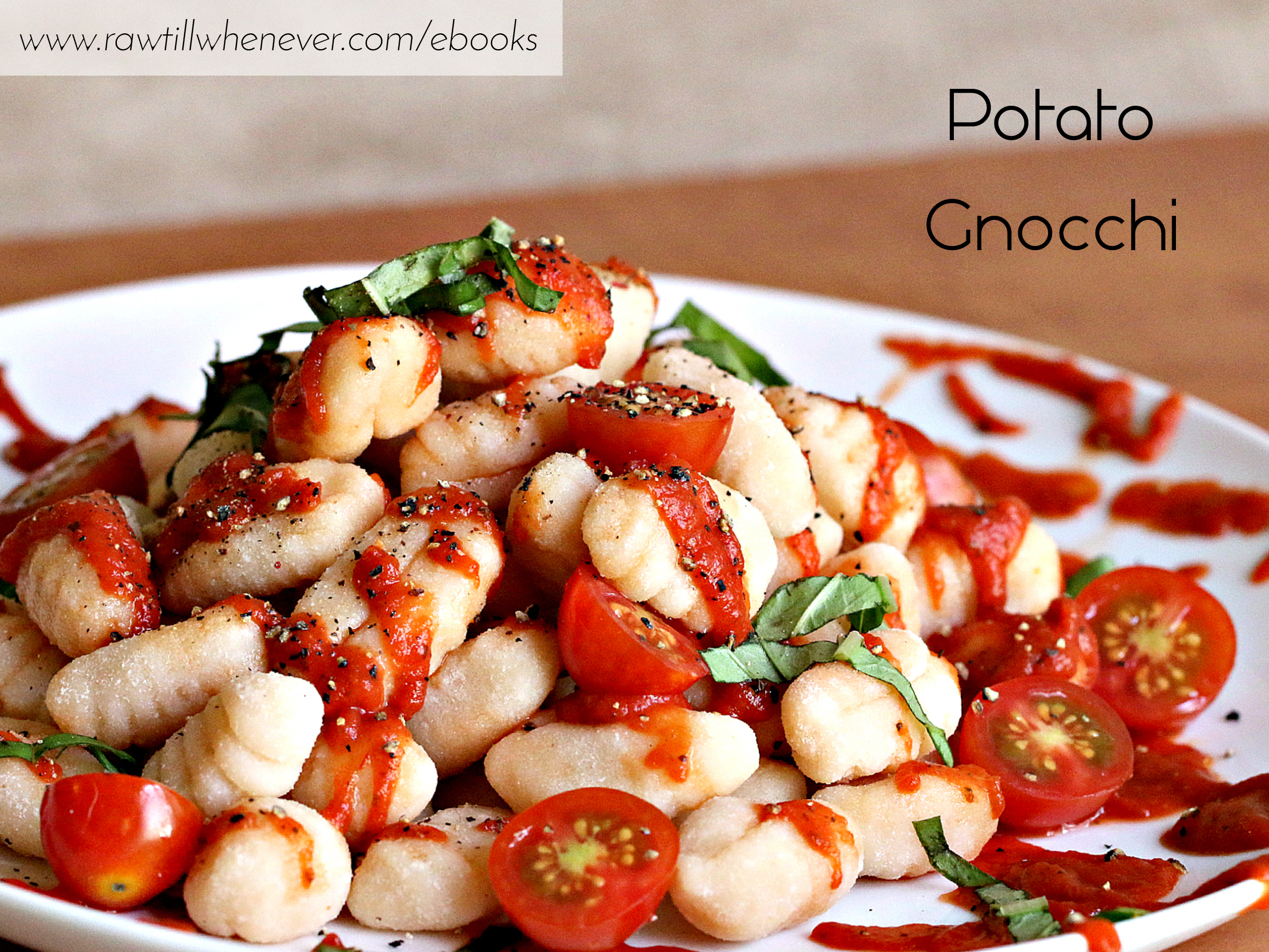 Potato gnocchi recipe featured from my best selling vegan recipe potato gnocchi recipe featured from my best selling vegan recipe book fullycooked forumfinder Choice Image