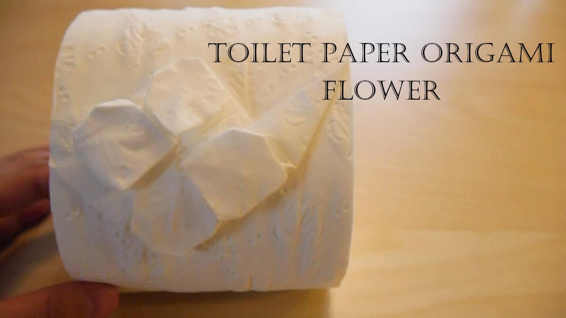 How to make toilet paper origami flower origami wc papr guriga how to make toilet paper origami flower origami wc papr guriga pinterest adornar y toallas mightylinksfo