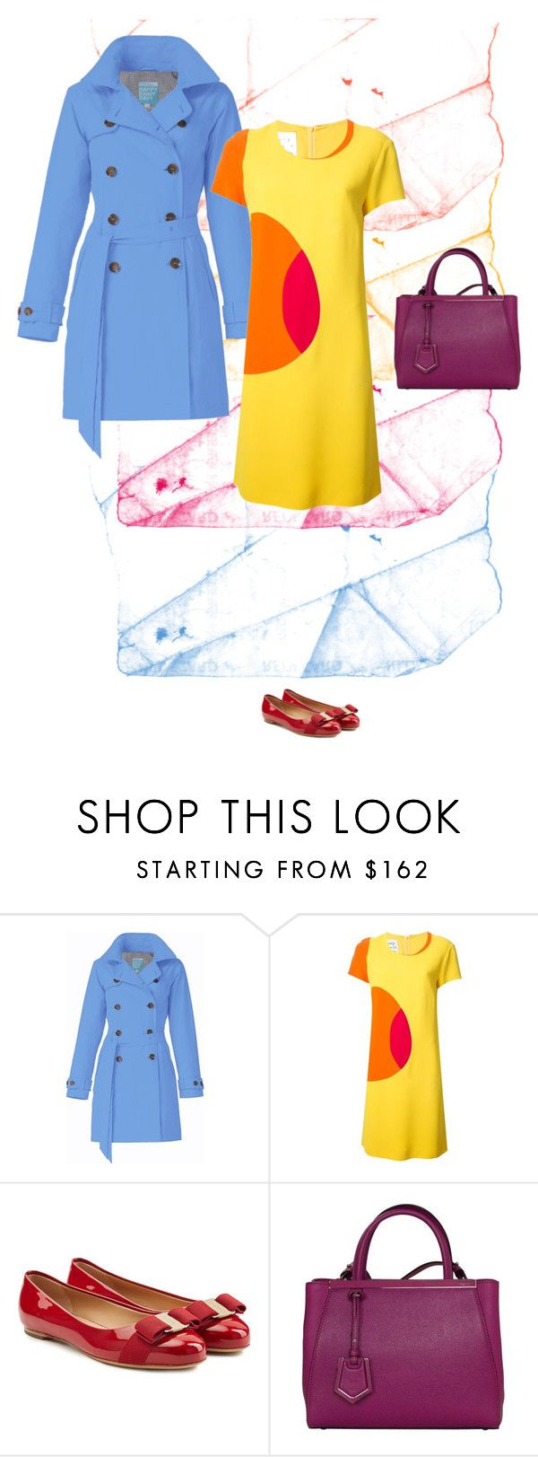 """Colour"" by blueeyed-dreamer ❤ liked on Polyvore featuring Moschino, Salvatore Ferragamo, Fendi, women's clothing, women, female, woman, misses and juniors"
