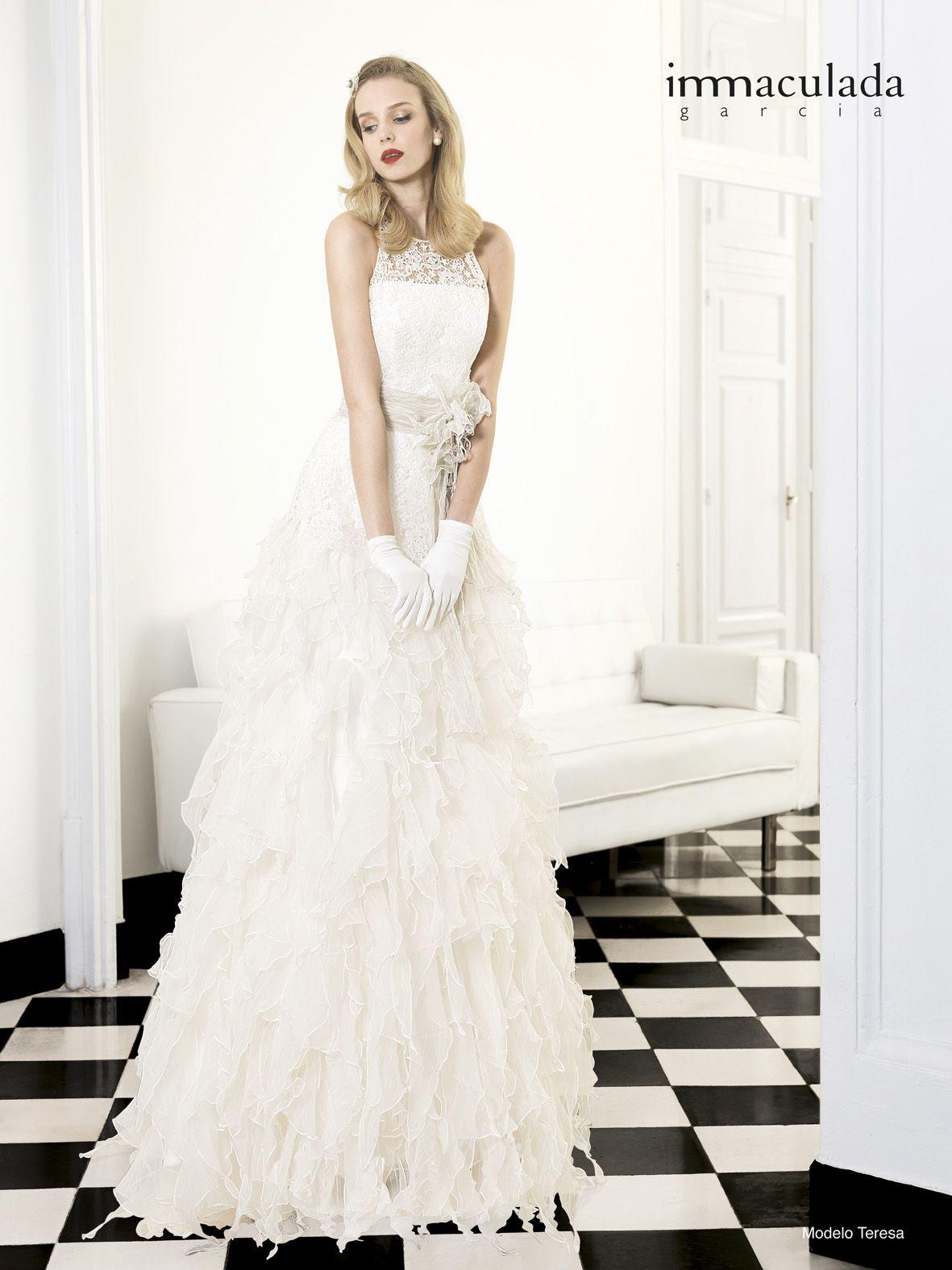 Spanisches Brautmoden-Label Inmaculada Garcia | Brautkleid mit ...