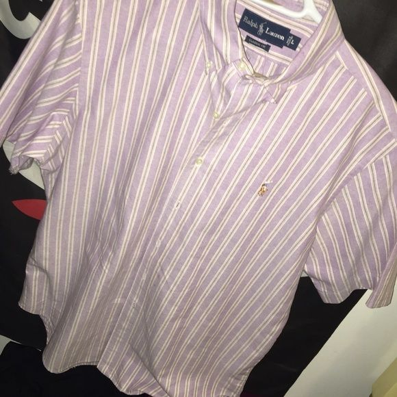 Polo Ralph Lauren  Size Large Men's!  Ironed well, Washed & Good condition. It's a must buy Ralph Lauren Tops Button Down Shirts