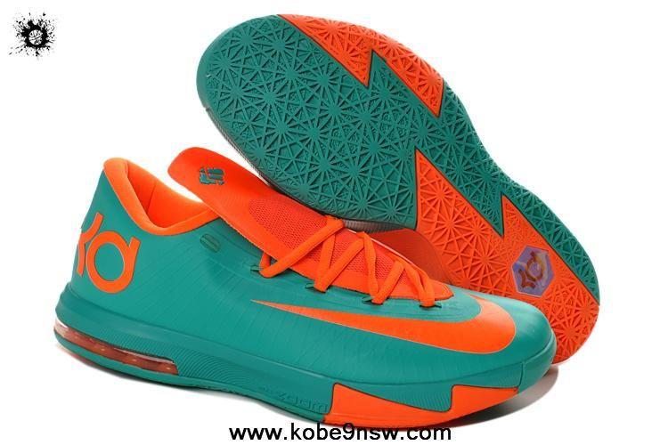 meet 2a78b ded7f New Blue Orange 599424-040 Nike Zoom KD 6 Sports Shoes Store