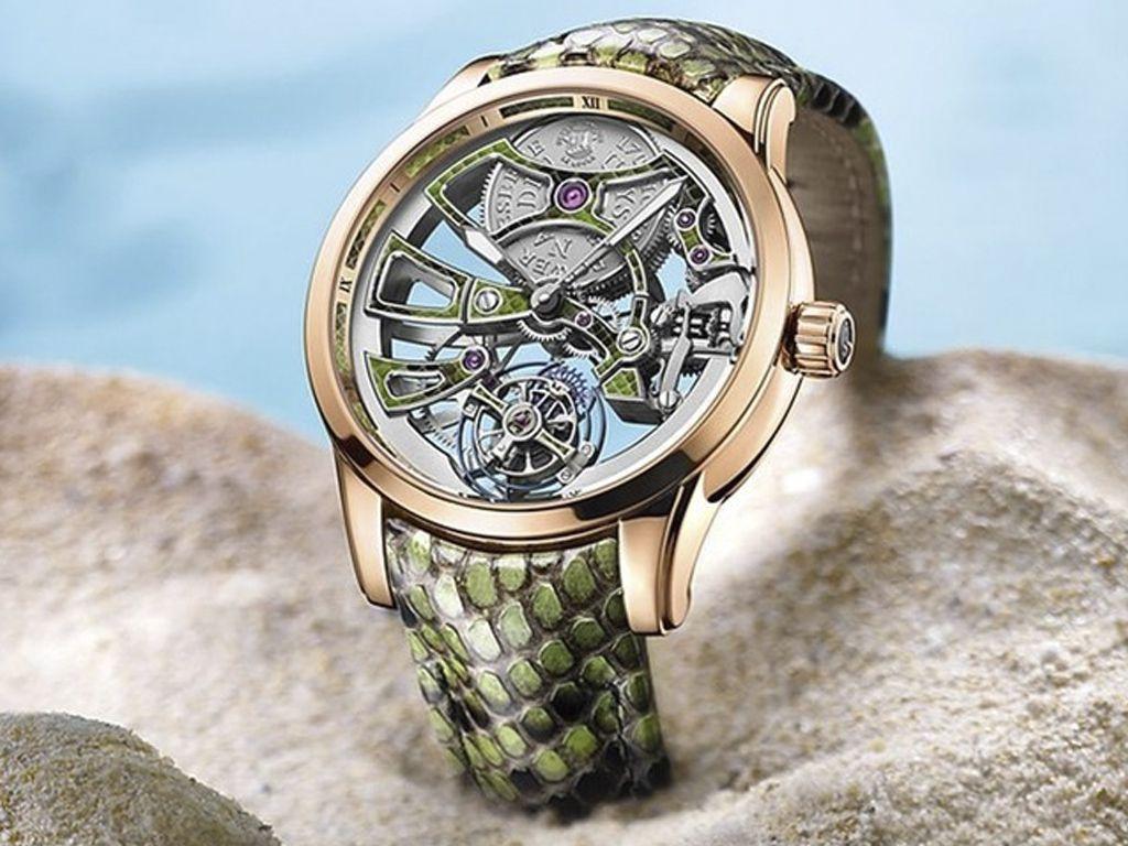 Un reloj con mecanismo indomable Métiers d'art de Ulysse Nardin.