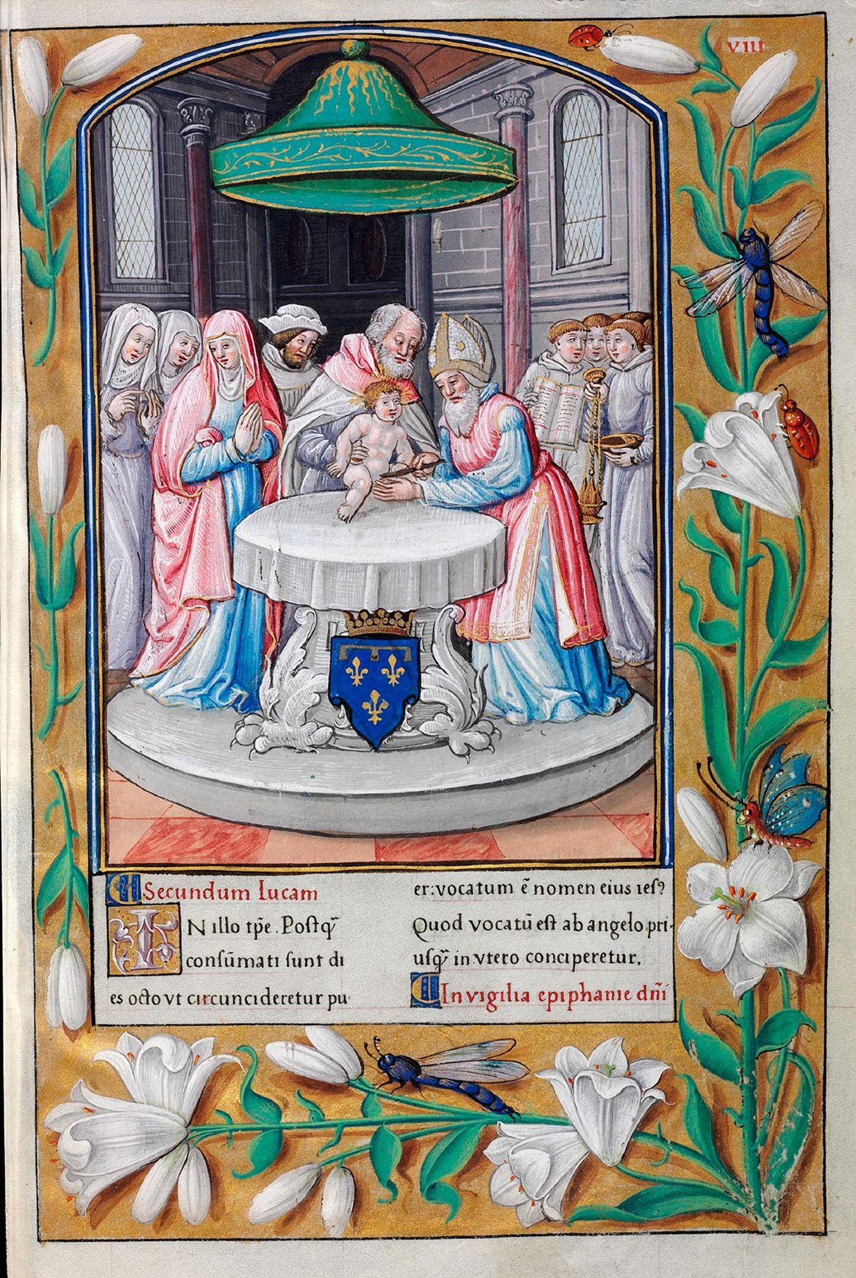 Biblioteca Digital Hispánica - 006-Evangeliario de París para uso de Carlos Duque de Angulema - 1500-1600