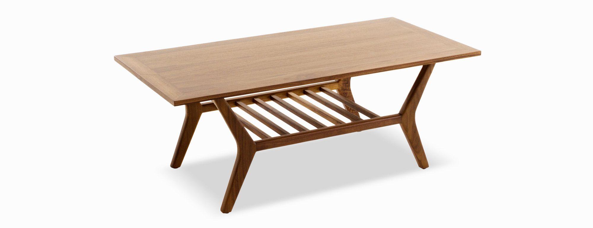 Versatile and ohsoretro, this doubledecker coffee table