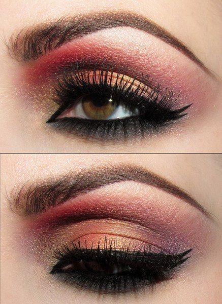 Pink Smoky Eyes.