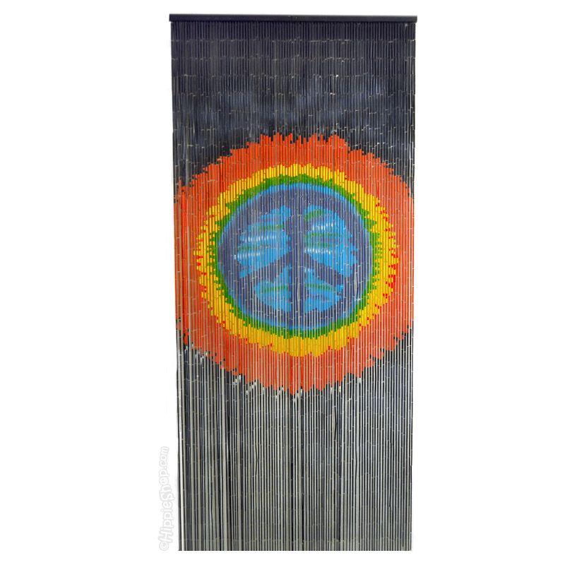 Merveilleux Tie Dye Peace Door Beads