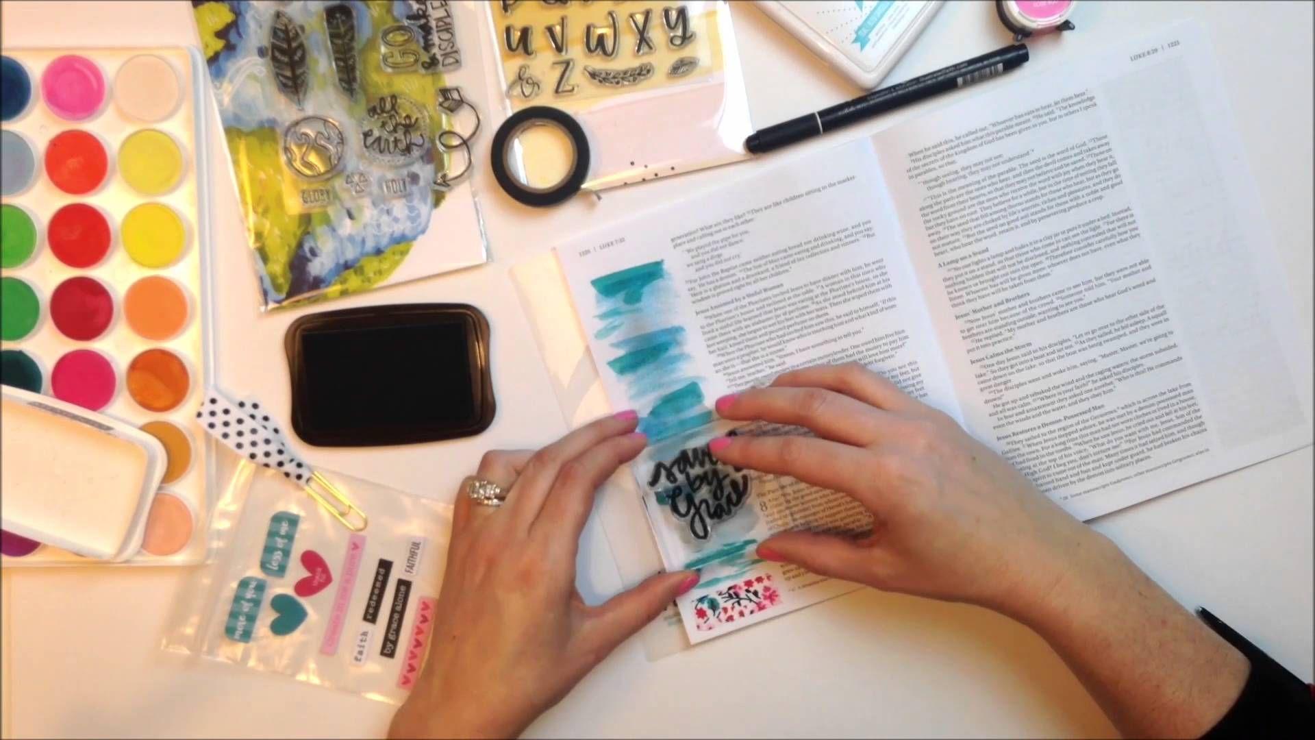 The NIV Beautiful Word Bible (Time Lapse) | DIY | Pinterest ...