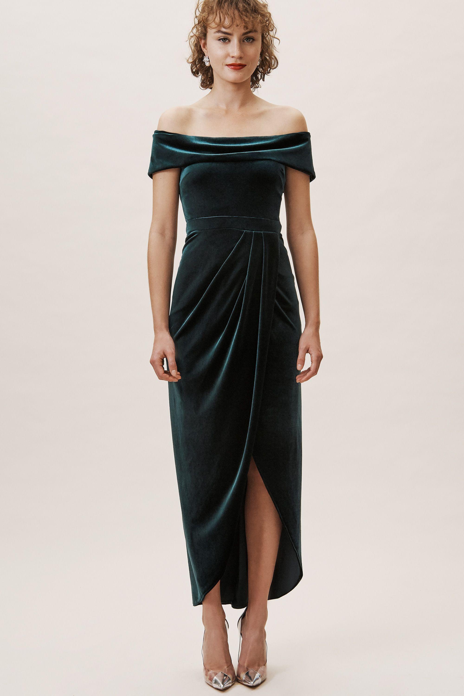 Bhldn Edison Velvet Dress In 2020 Black Tie Wedding Guest Dress Velvet Dresses Outfit Guest Attire [ 3000 x 2000 Pixel ]