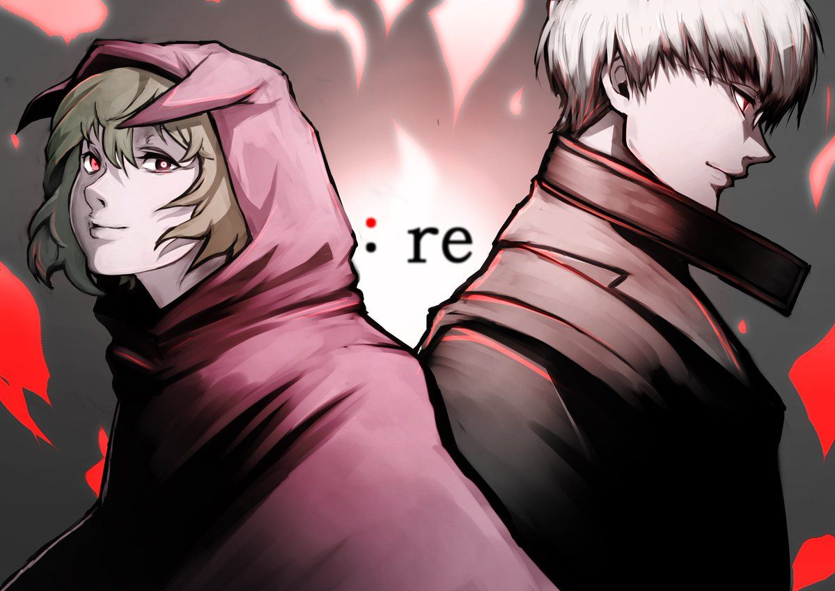 Image result for Arima and Eto pinterest