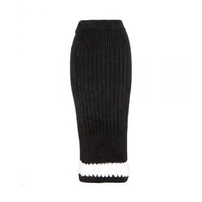 Calvin Klein Collection - Perseus ribbed skirt #skirt #calvinklein #women #designer #covetme #calvinkleincollection