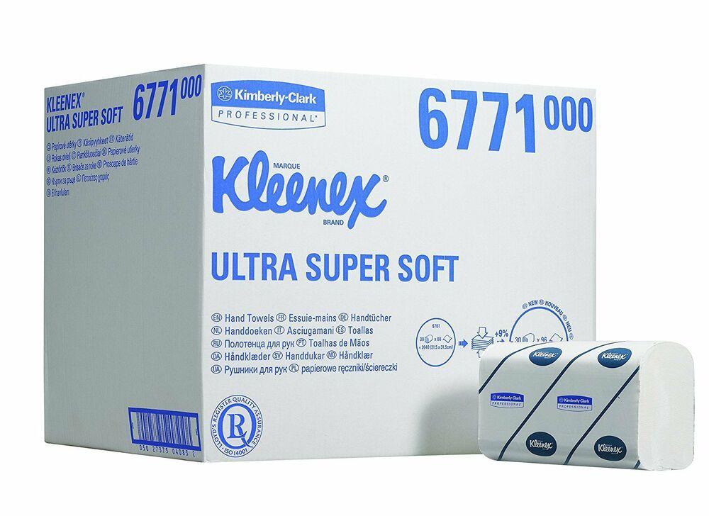 Kleenex Airflex Ultra Super Soft Hand Towels 6771 Hand Towels