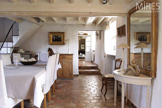 quelle couleur pour une cuisine avec des tomettes deco travaux maison pinterest. Black Bedroom Furniture Sets. Home Design Ideas