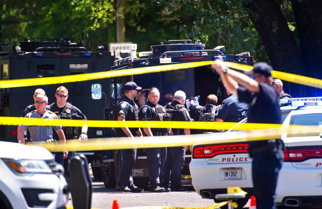 Baton Rouge Police Shooting Suspect Stood Over Dead Officer And