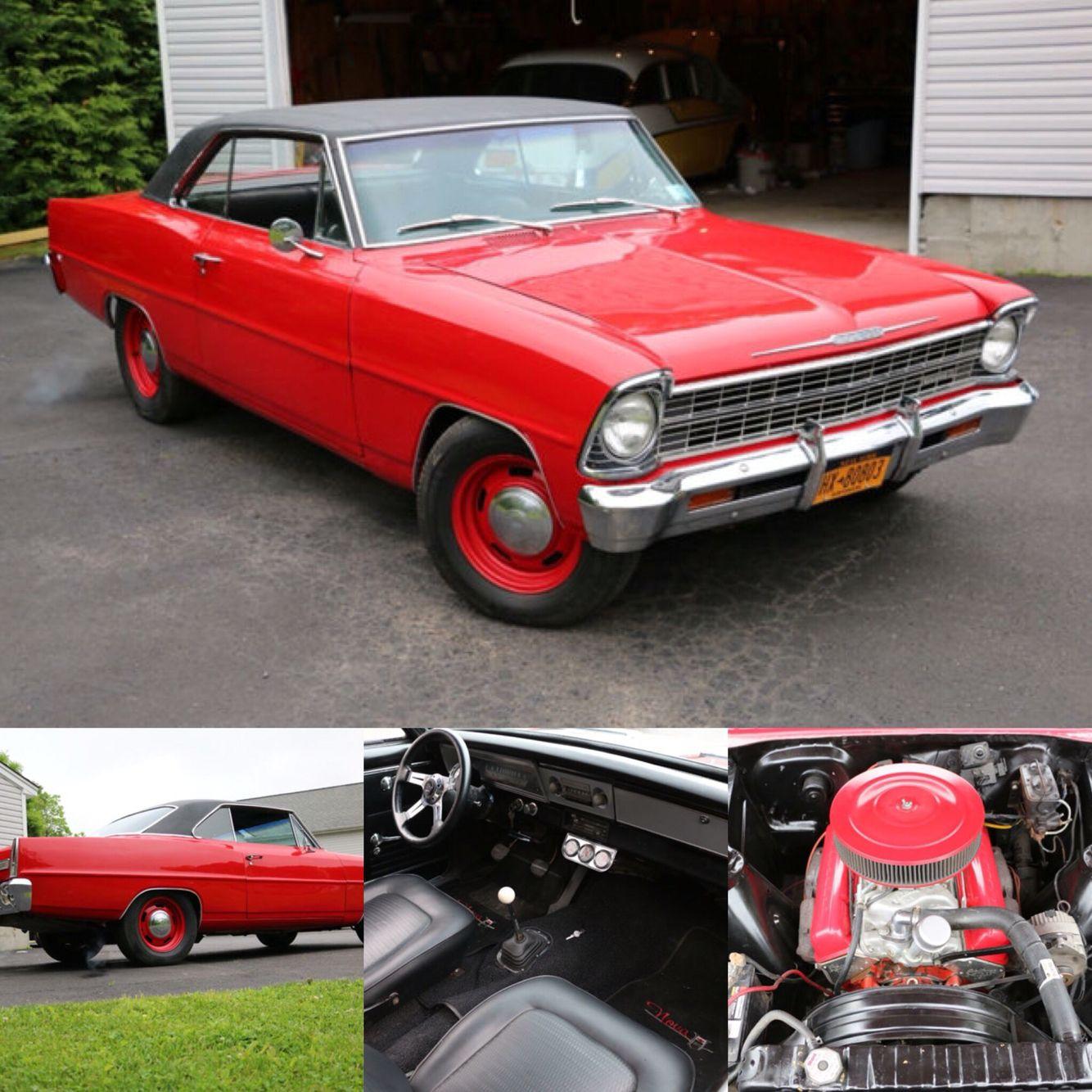 1967 Chevrolet Nova II Hard Top For Sale PRICE REDUCTION