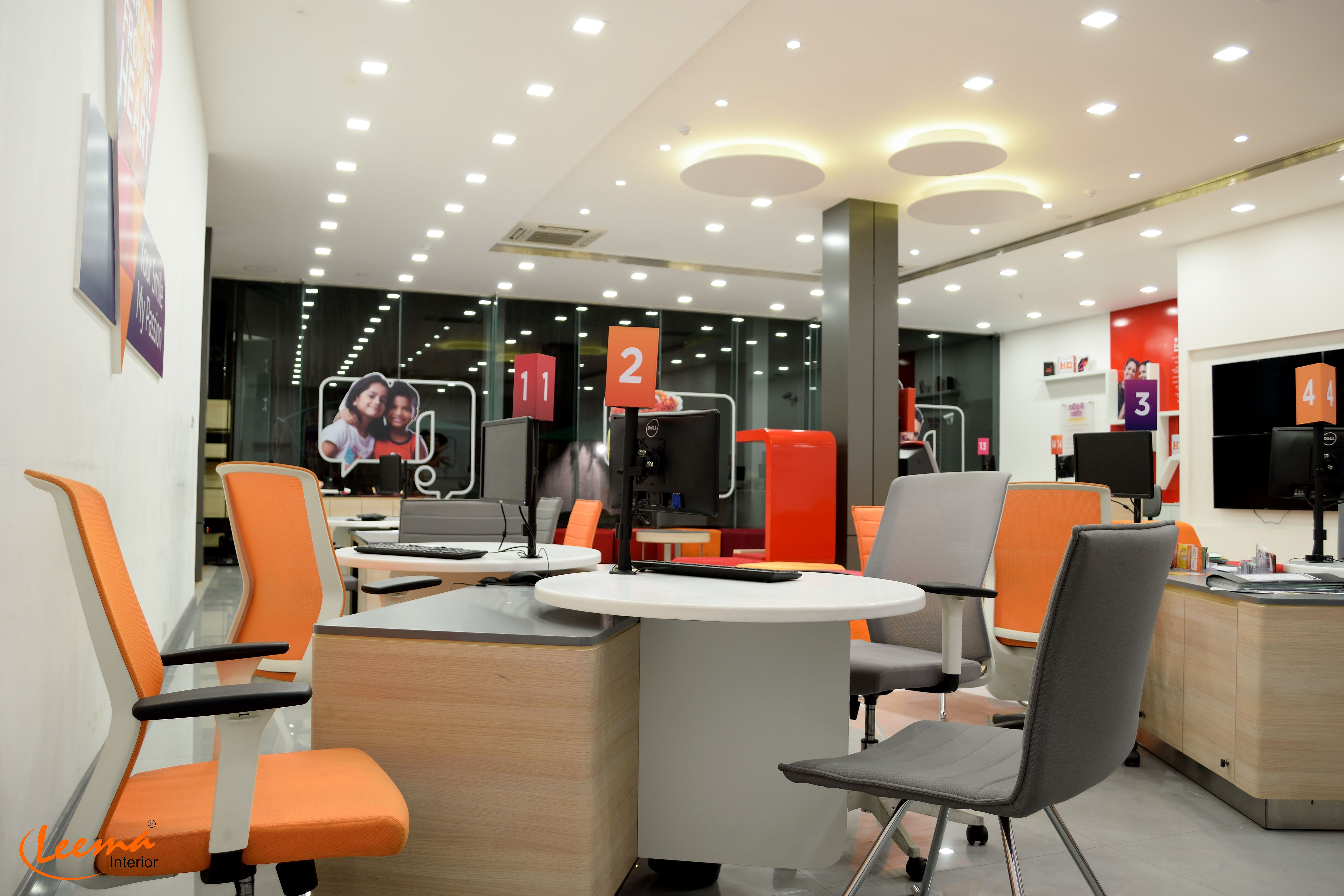 Dialog Sri Lanka Head Office Interior Decoration Design Chairs