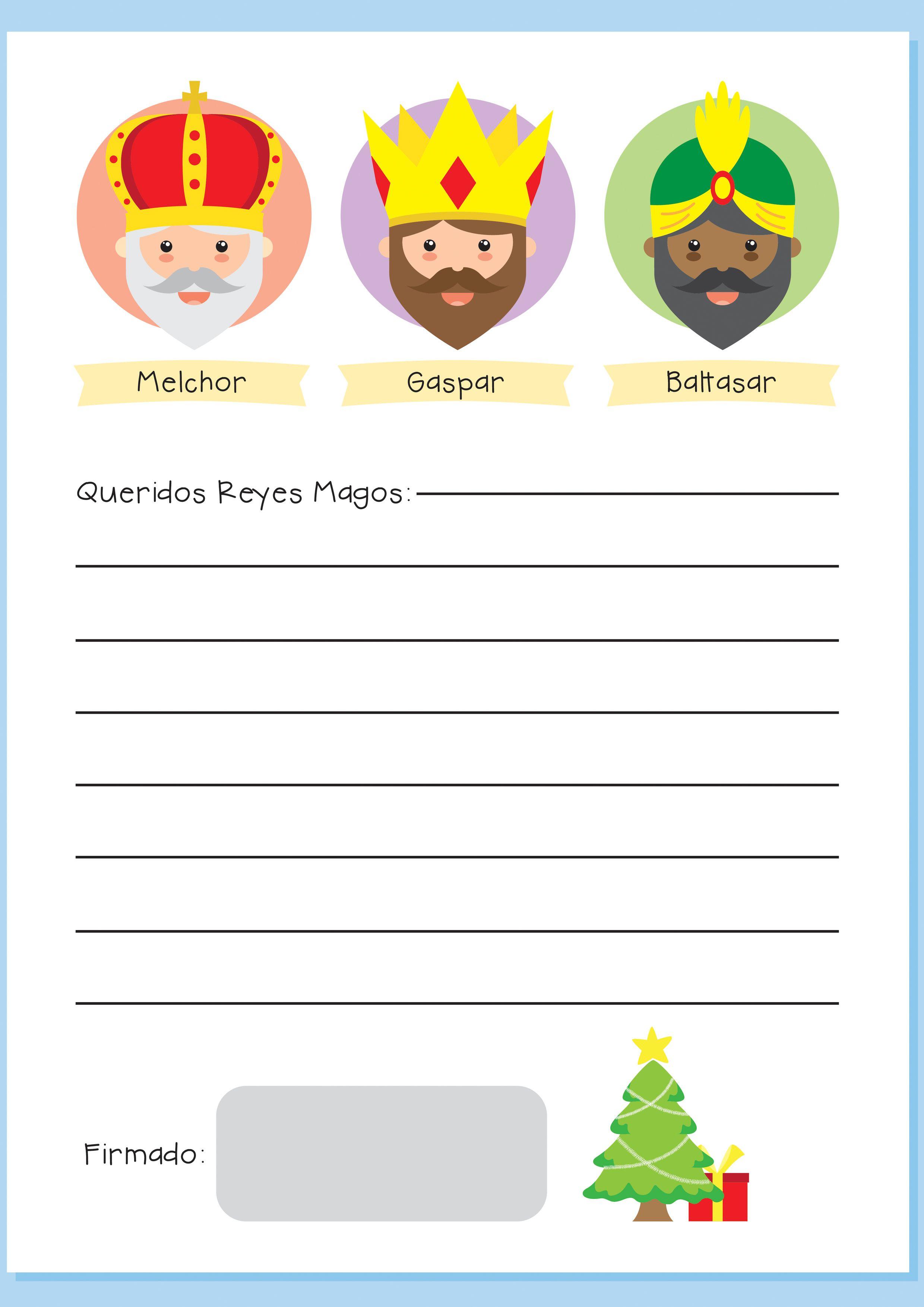 Dias De Reyes Magos Descargar resultado de imagen de carta a los reyes magos para imprimir