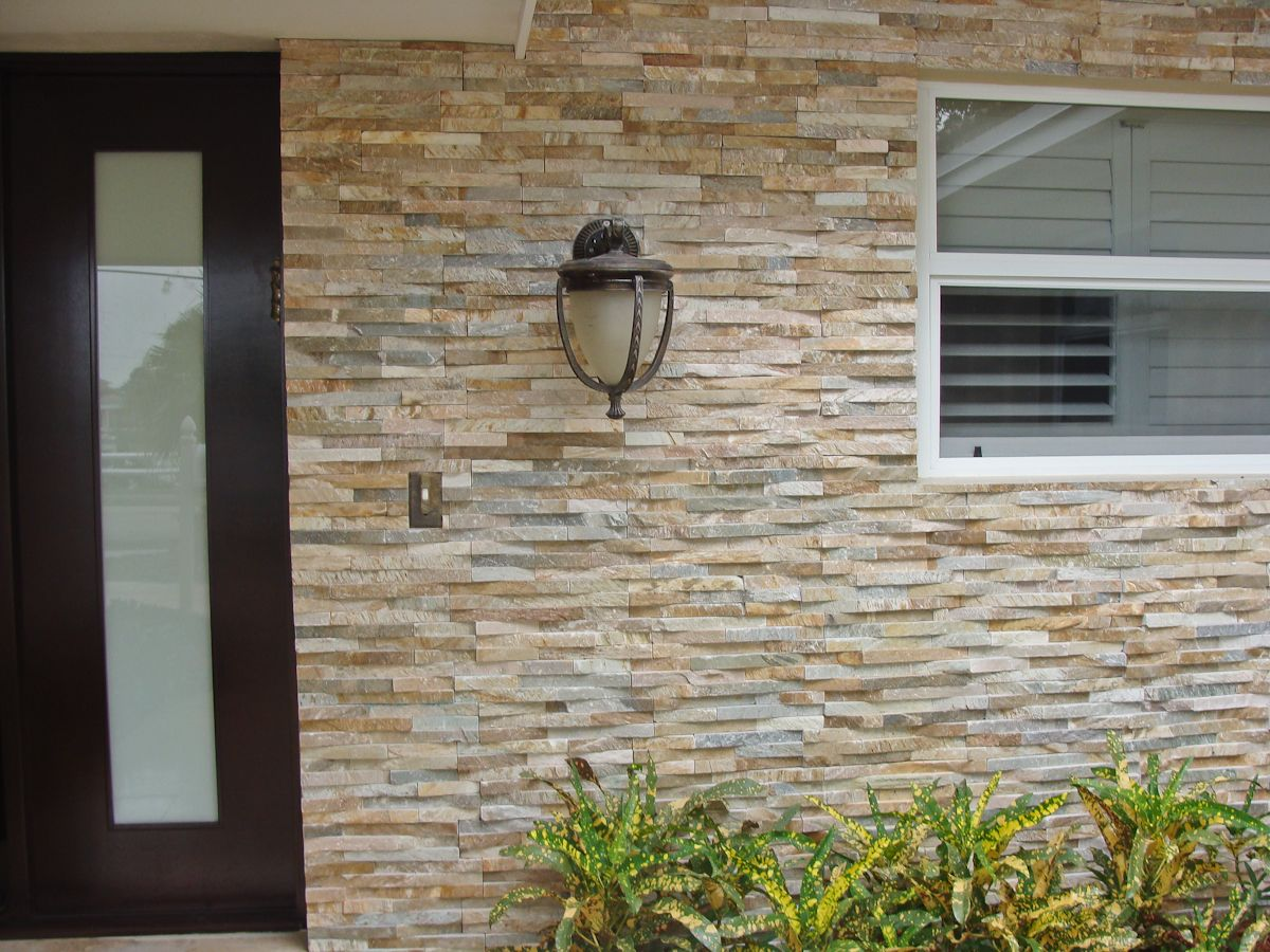 Natural Stone Veneer Panels For Exterior And Interior. Www.stonetek.us  Natural Stone