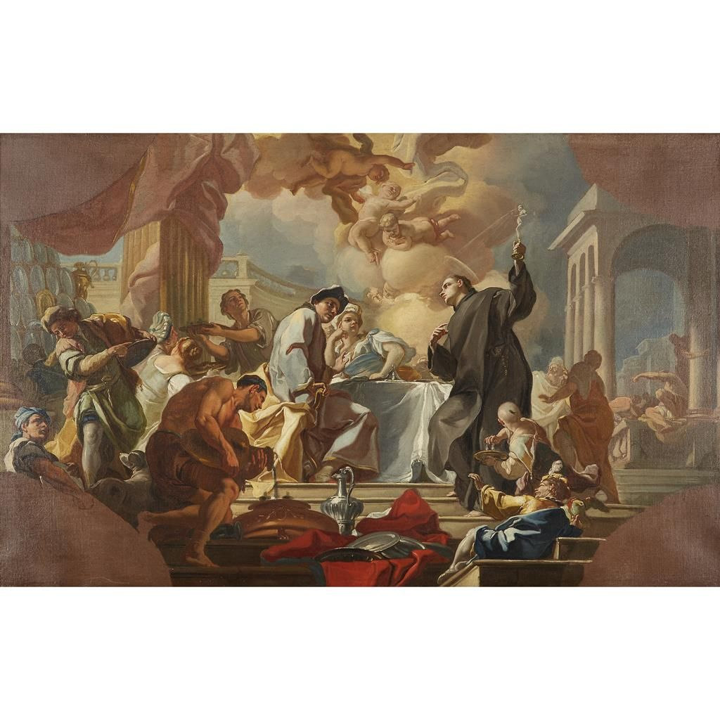 GIACINTO DIANO (italian 1730–1803) SCENE FROM THE LIFE OF