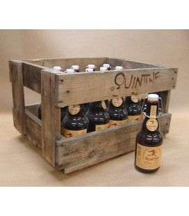 Quintine Ambrée full crate 20 x 33 cl